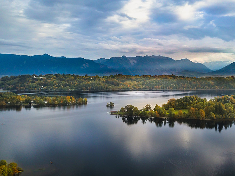 Blick auf den Staffelsee